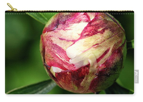 Peony Bud Carry-all Pouch