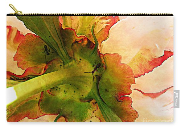 Peony Flirt Carry-all Pouch
