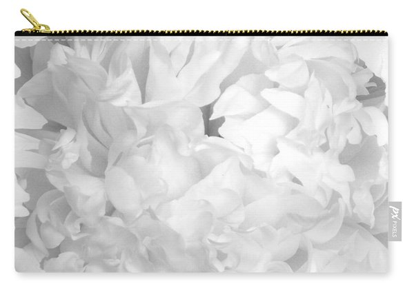 Peony Petals Carry-all Pouch