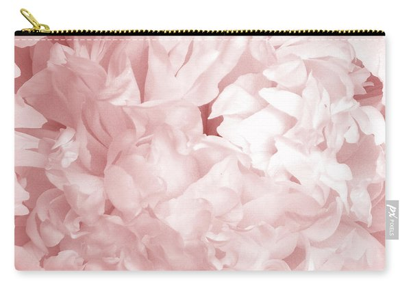 Peony Pink Beauty Carry-all Pouch