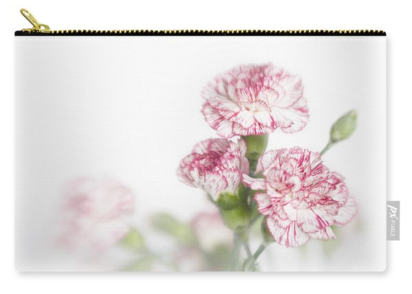 Peppermint Carnations Carry-all Pouch