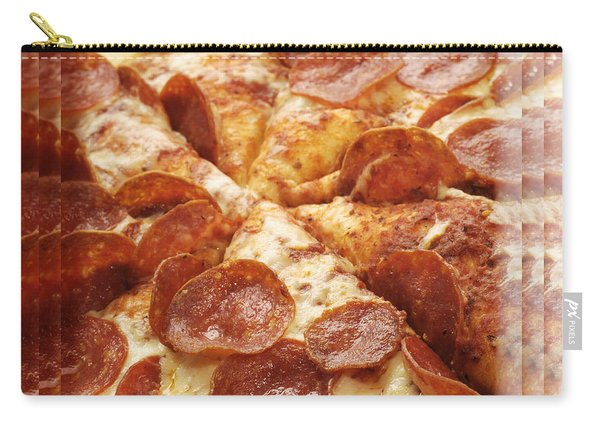 Pepperoni Pizza 25 Pyramid Carry-all Pouch