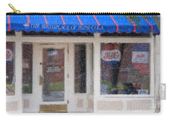 Pepsi Cola Birthplace Watercolor Carry-all Pouch
