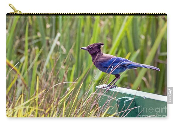 Perching Jay Carry-all Pouch