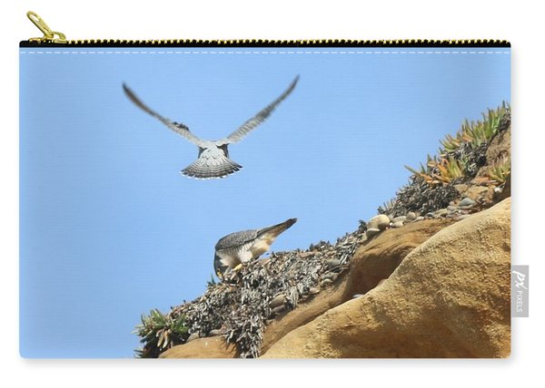 Peregrine Falcons - 2 Carry-all Pouch