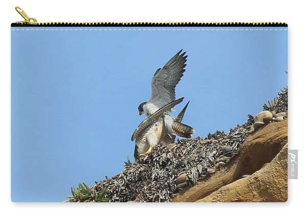 Peregrine Falcons - 5 Carry-all Pouch