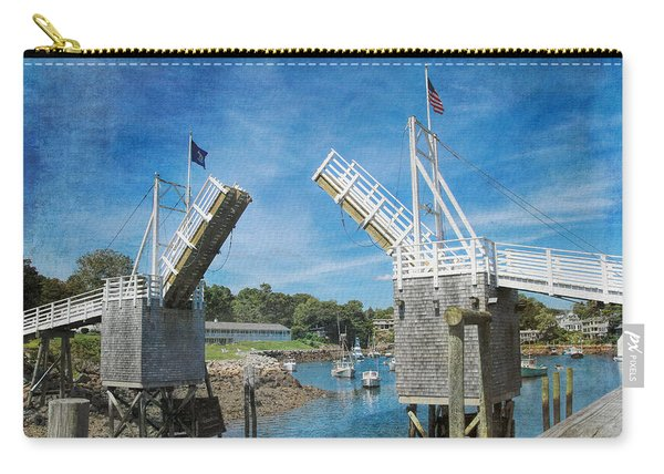 Perkins Cove Drawbridge Textured Carry-all Pouch