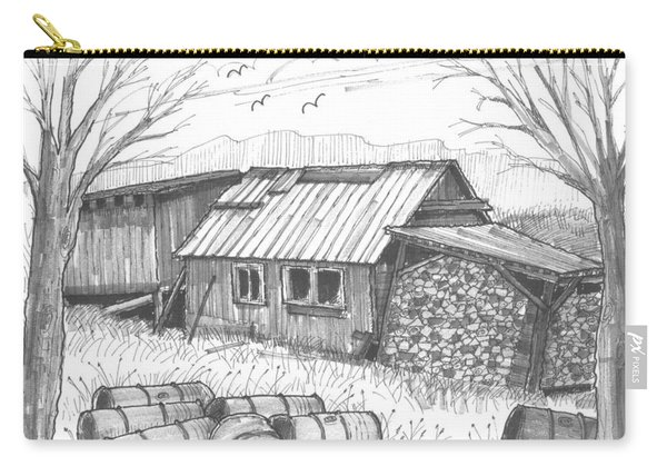Perkins Maple Sugar House Carry-all Pouch