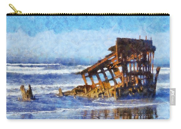 Peter Iredale Wreck Carry-all Pouch