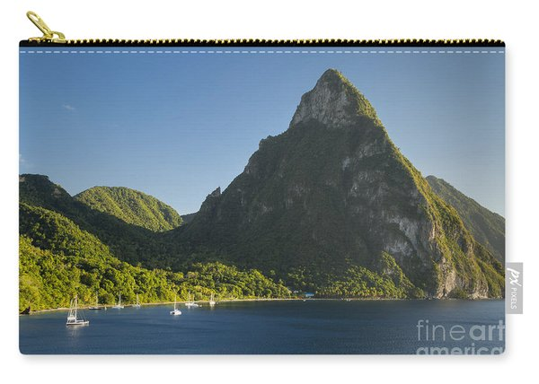 Petite Piton - St Lucia Carry-all Pouch