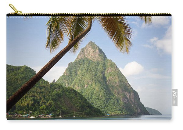 Petite Piton Soufriere Carry-all Pouch