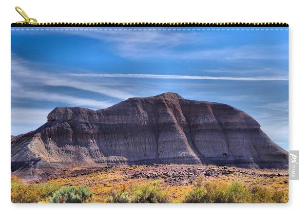 Petrified Forest Landscape Carry-all Pouch