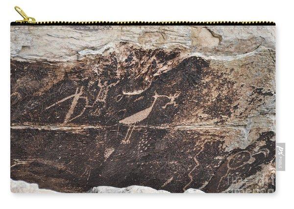 Petroglyph Bird Carry-all Pouch