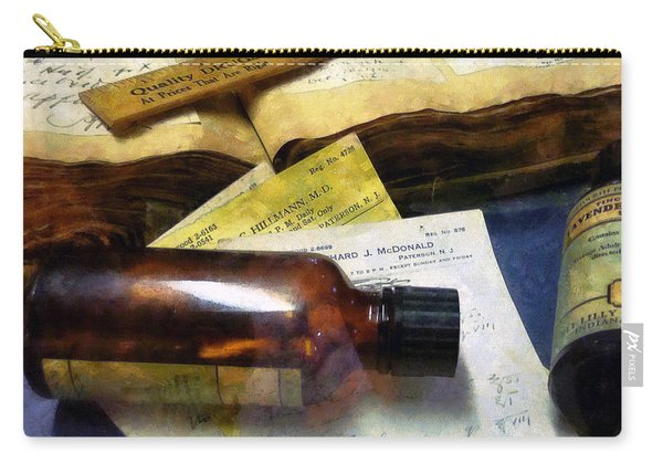 Pharmacist - Prescriptions And Medicine Bottles Carry-all Pouch