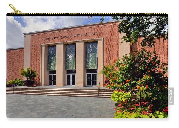 Phi Beta Kappa Hall Carry-all Pouch
