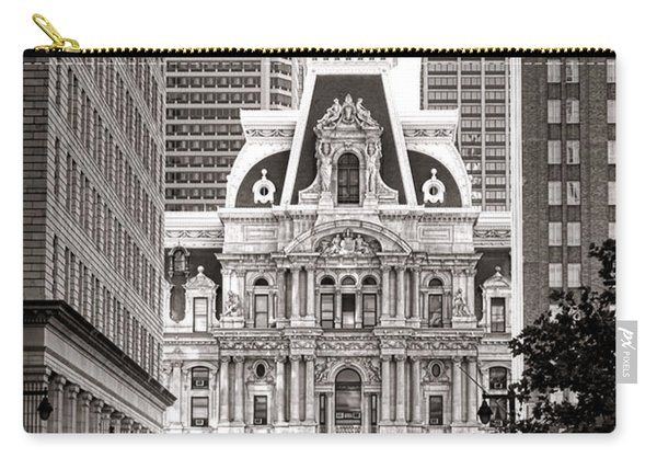 Philadelphia City Hall Carry-all Pouch