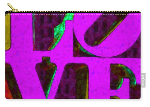 Philadelphia Love - Painterly V2 Carry-all Pouch