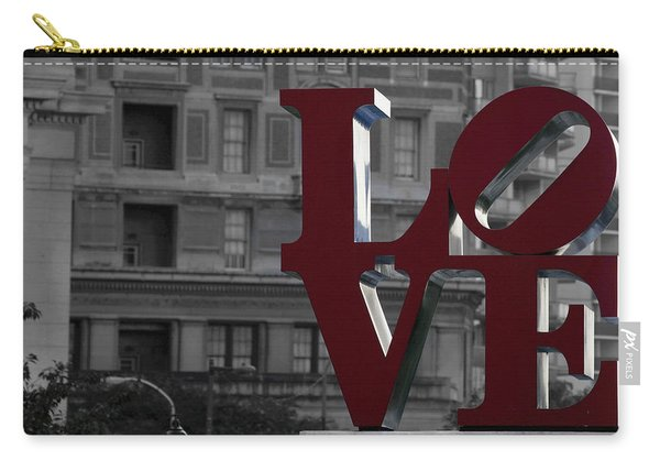 Philadelphia Love Carry-all Pouch