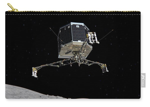 Philae Lander Descending To Comet 67pc-g Carry-all Pouch