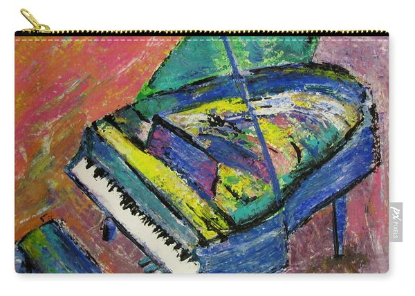 Piano Blue Carry-all Pouch