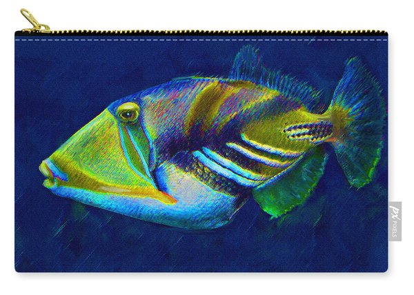 Picasso Triggerfish Carry-all Pouch