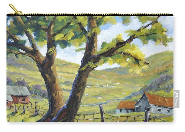 Picnic With A View By Prankearts Carry-all Pouch