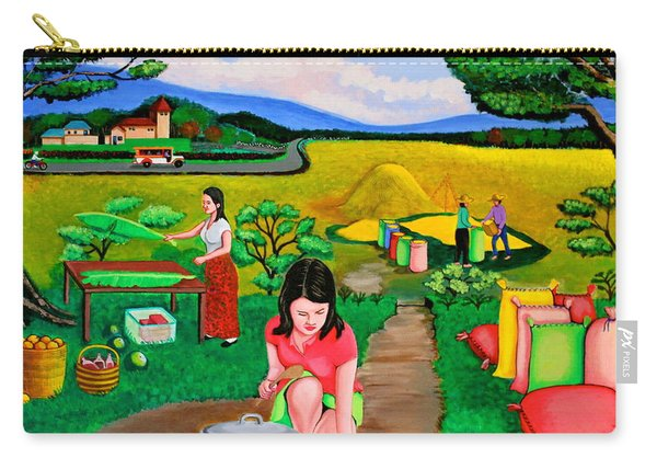 Picnic With The Farmers Carry-all Pouch