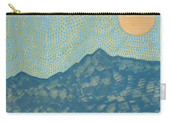 Picuris Mountains Original Painting Carry-all Pouch