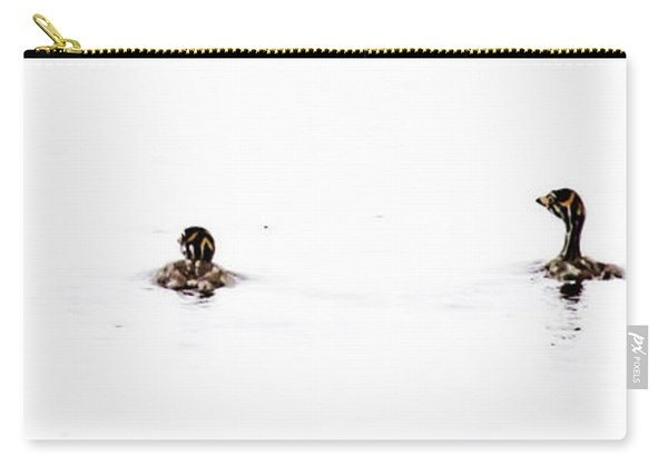 Pied-billed Grebe Babies Carry-all Pouch