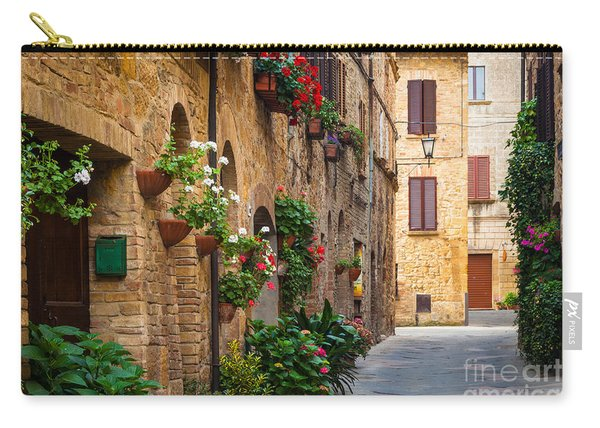 Pienza Street Carry-all Pouch