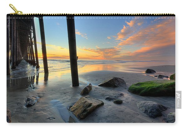 Pier And Sunset Carry-all Pouch