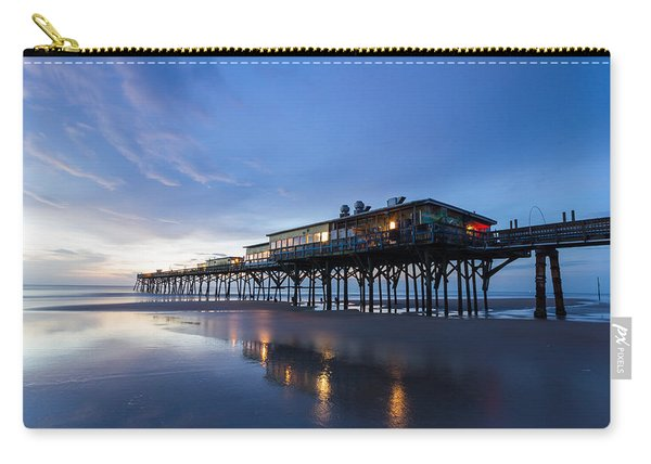 Pier At Twilight Carry-all Pouch
