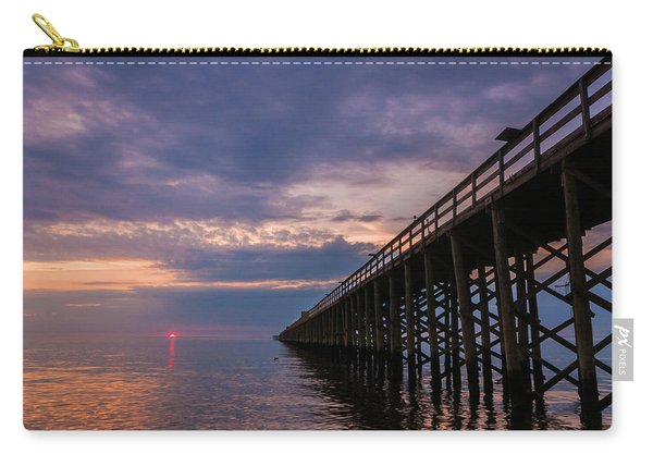 Pier To The Horizon Carry-all Pouch