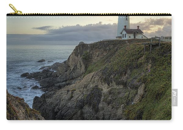 Pigeon Point Lighthouse At Sunset Carry-all Pouch
