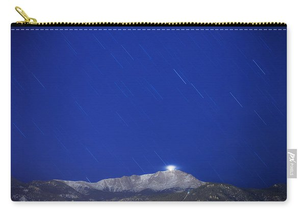 Pikes Peak Under The Stars Carry-all Pouch