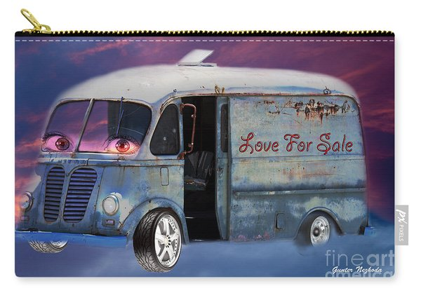 Pin Up Cars - #2 Carry-all Pouch