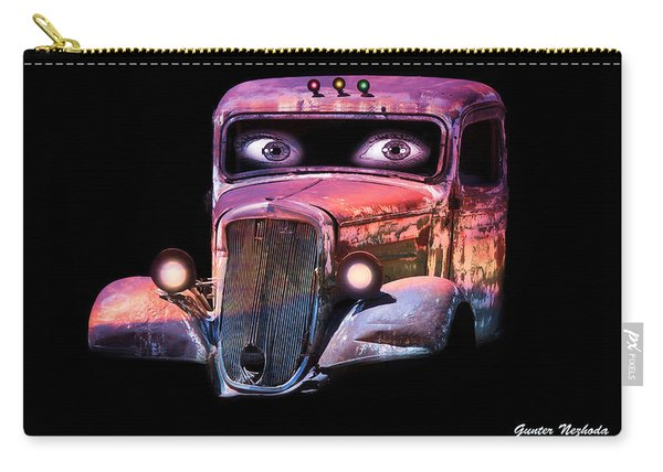 Pin Up Cars - #3 Carry-all Pouch