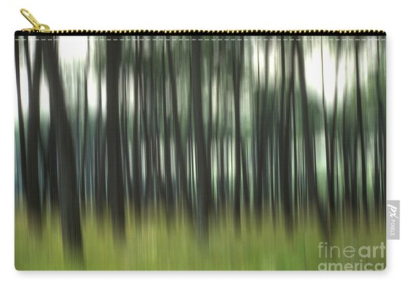 Pine Forest.blurred Carry-all Pouch