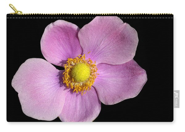 Pink Anemone Carry-all Pouch