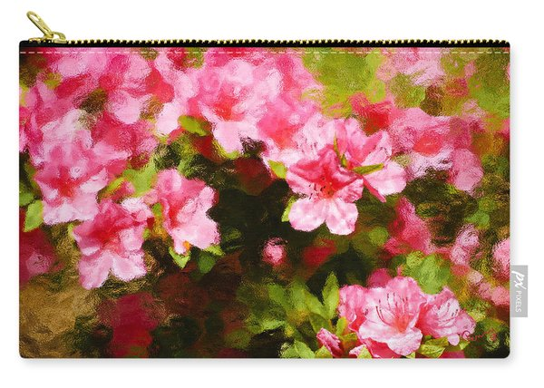 Pink Azealas Carry-all Pouch