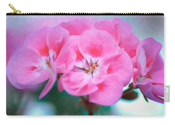 Carry-all Pouch featuring the photograph Pink Beauty by Garvin Hunter