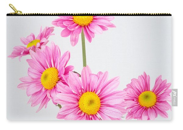 Pink Dasies Carry-all Pouch