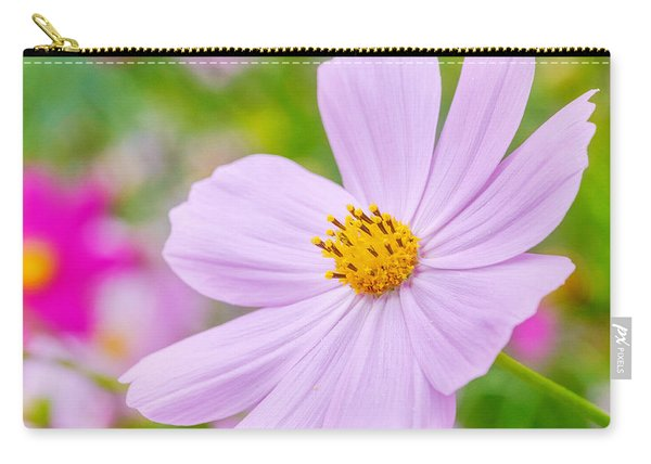 Carry-all Pouch featuring the photograph Pink Flower  by Garvin Hunter