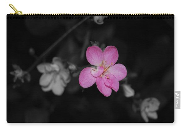 Pink Flower  Carry-all Pouch