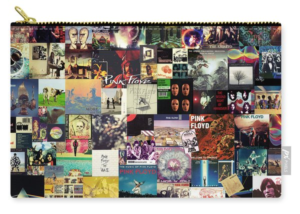 Pink Floyd Collage I Carry-all Pouch