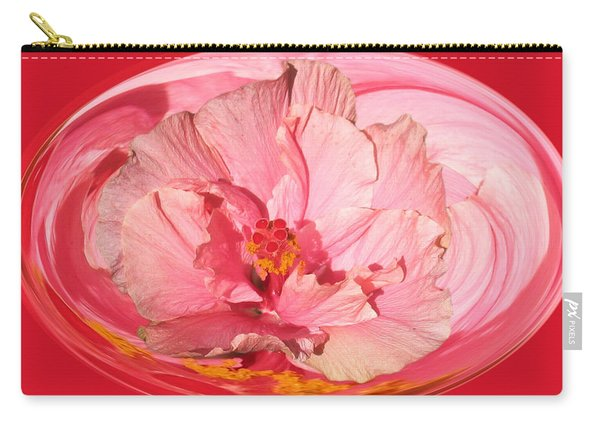 Pink Hibiscus 804 Carry-all Pouch