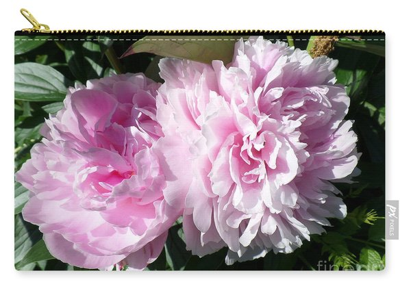 Pink Peonies 3 Carry-all Pouch