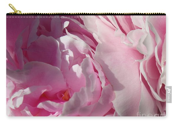 Pink Peonies Carry-all Pouch