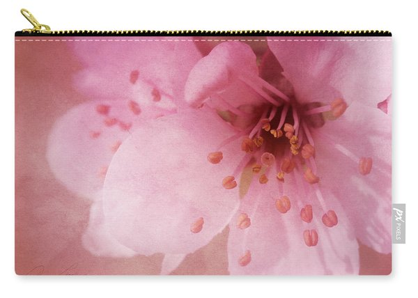 Pink Spring Blossom Carry-all Pouch