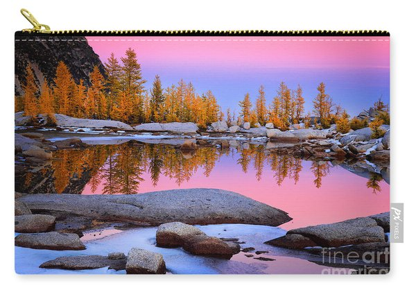 Pink Tarn - October Carry-all Pouch